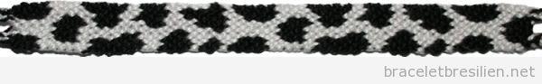Bracelet brésilien motif vache