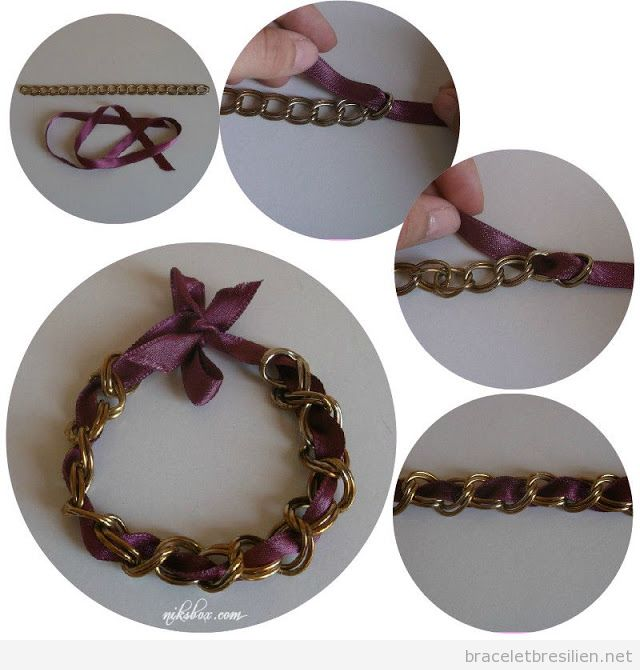 Bien-aimé Chaine | Bracelets Brésiliens | Tutoriel pas à pas pour fabriquer  UM38