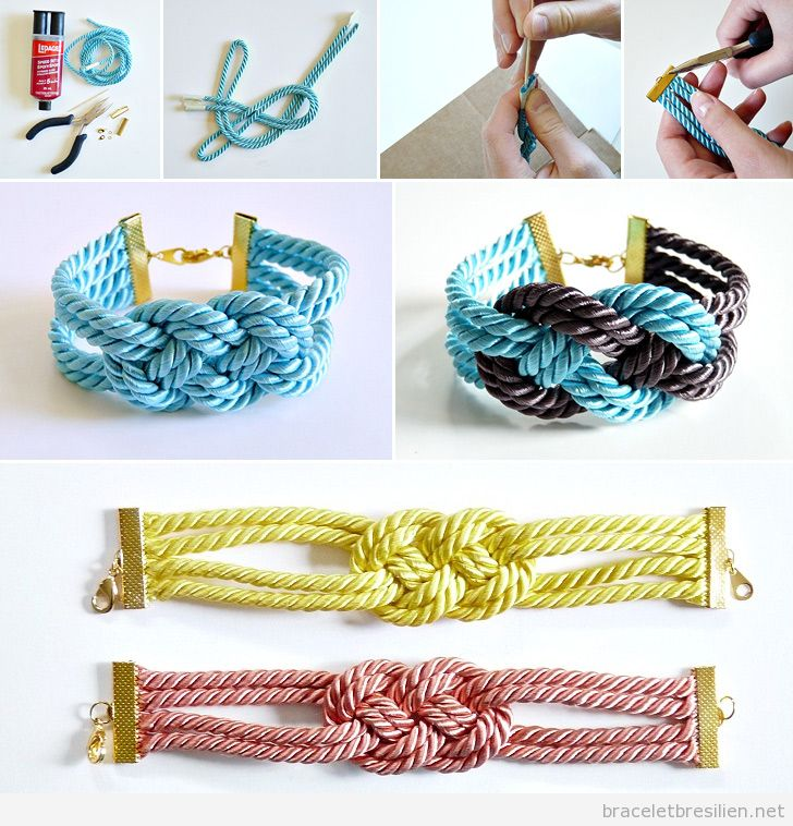 noeud bracelets br siliens tutoriel pas pas pour fabriquer des bracelets br siliens. Black Bedroom Furniture Sets. Home Design Ideas