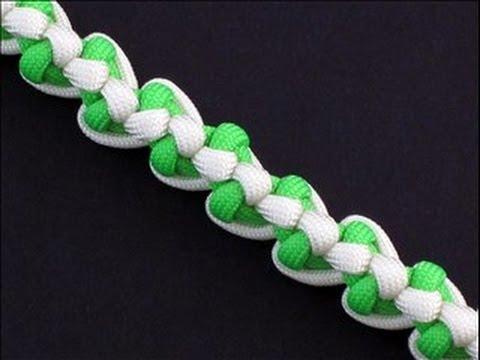 Comment réaliser un bracelet de corde de parachute, modèle Biotic Bar