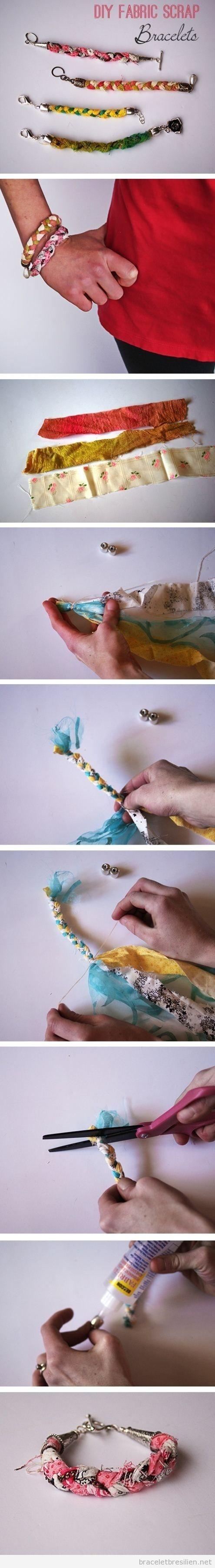 Bracelet DIY coupons, tuto pas à pas