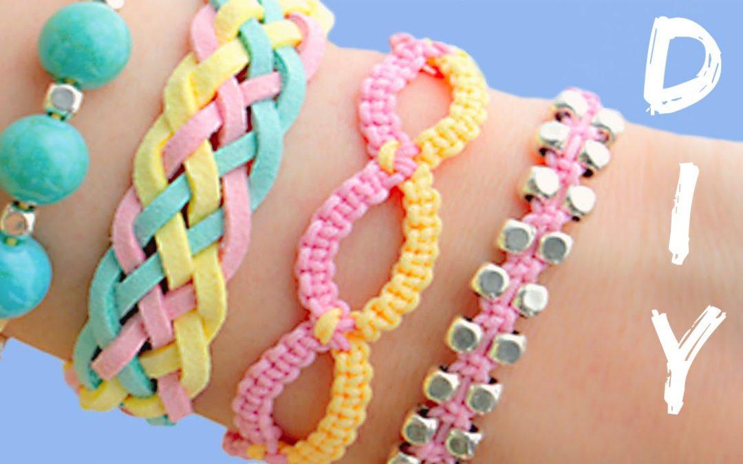 4 bracelets DIY pour réaliser pendant l'été (Vidéo tuto)