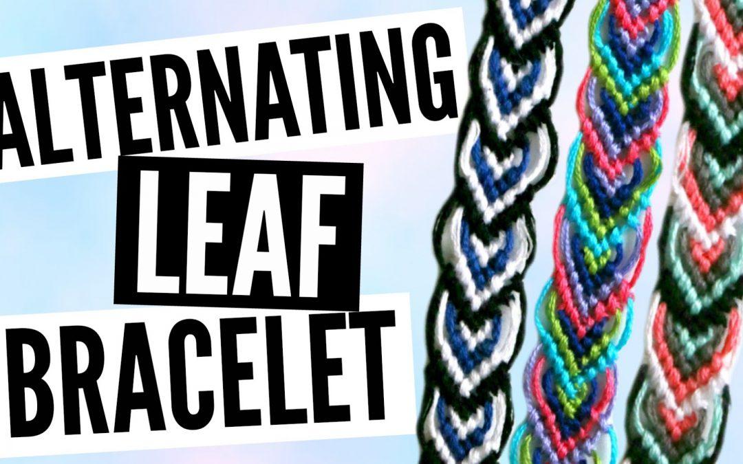 Comment fabriquer un bracelet brésilien en forme de feuille, vidéo tutoriel