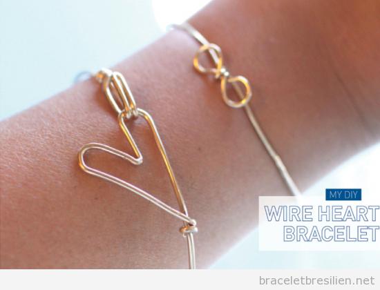 Bracelet DIY fil de fer ou cuivre
