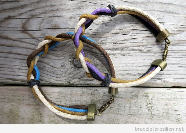 Tuto DIY bracelet cadeau pour hommes Saint Valentin 4