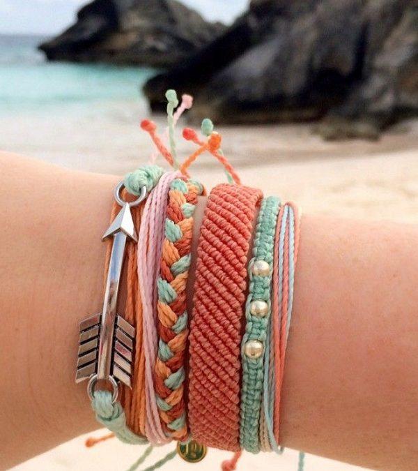 Bracelets brésiliens tendance été 2018, les looks plus vibrants