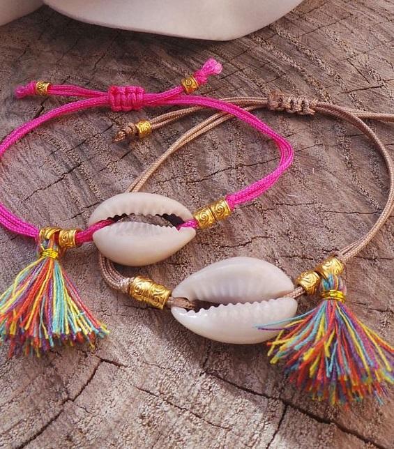 Bracelet cordes été