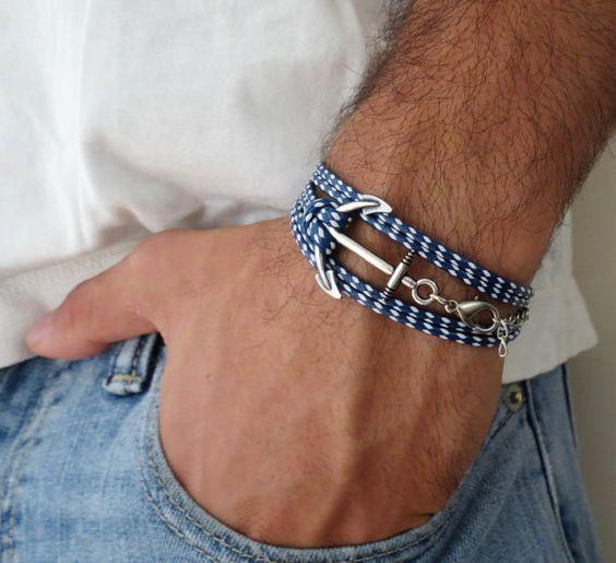 Bracelet cordes homme été