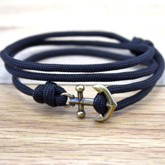 Bracelet cordes homme été 2