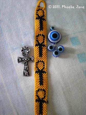 Bracelet bresilien croix de vie